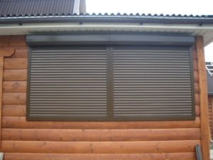 What are the benefits of protective shutters