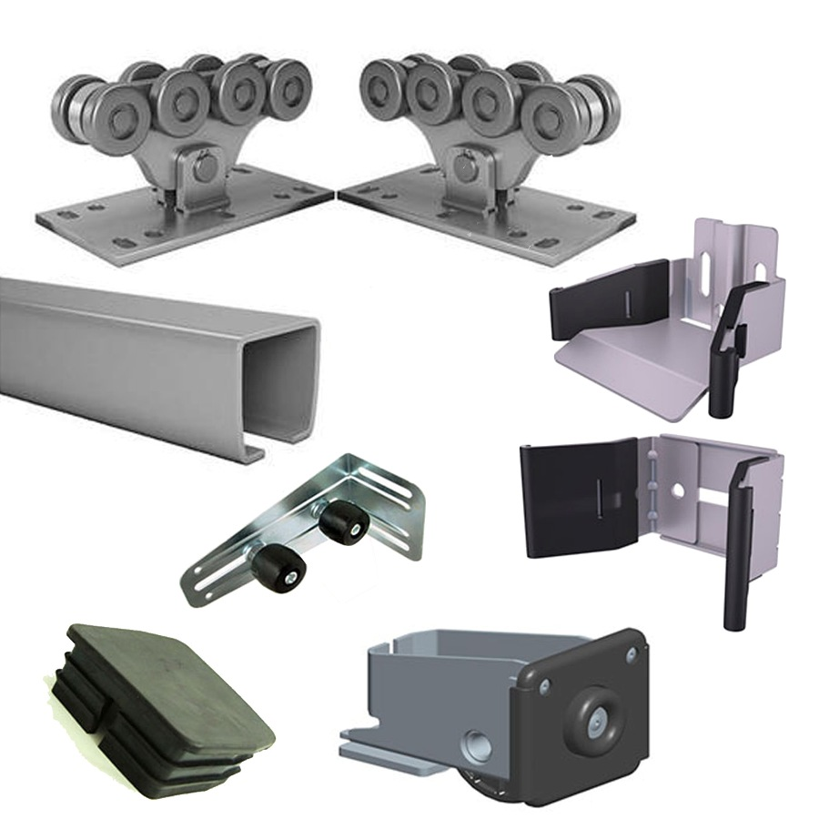 Selection of fittings for sliding gates