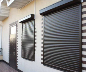 Roller shutters will protect and decorate any premises, houses, buildings