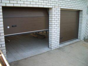 Секционные ворота: конструкция, преимущества использования