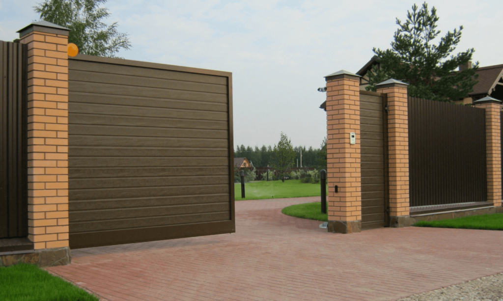 Selection of sliding gates