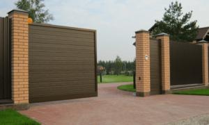 Выбор откатных ворот