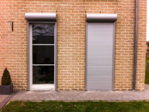 Rollets on the door - quality construction, providing comfort and security in the house