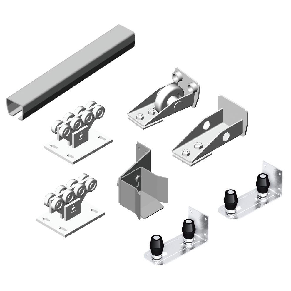 Fittings for sliding gates