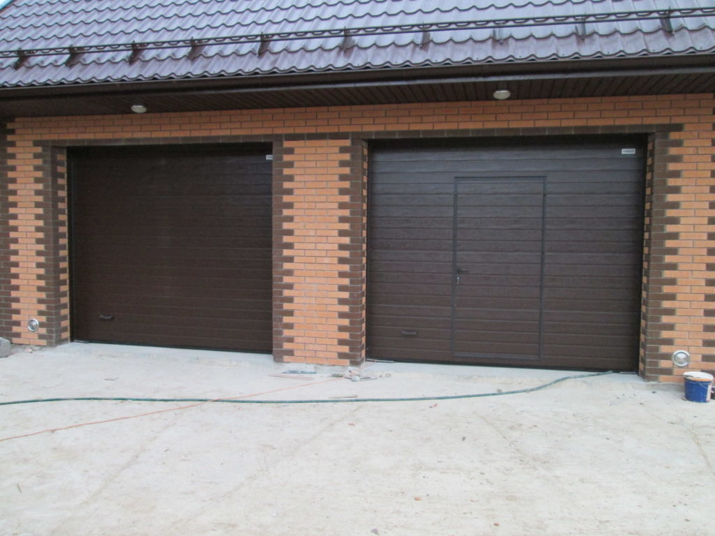 How to care for sectional garage doors
