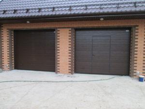 Как ухаживать за секционными гаражными воротами