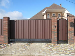 We select the automatic on the sliding gate, what to look for
